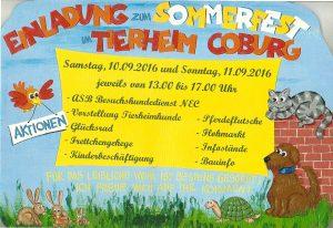 Einladung zum Sommerfest 2016