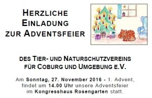 Adventsfeier 27-11-16